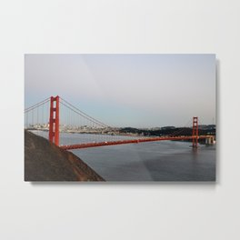 GOLDEN GATE BRIDGE - TWILIGHT - CALIFORNIA Metal Print