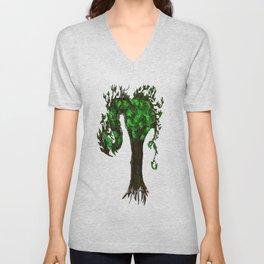 Tree Dragons Unisex V-Neck