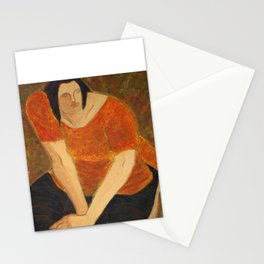 woman Stationery Cards