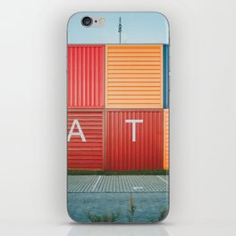 Amsterdam Noord Containers iPhone Skin