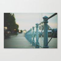 boardwalk empire Canvas Prints featuring boardwalk by Jordan Parks Photography