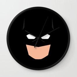 Superhero Bat Man Wall Clock
