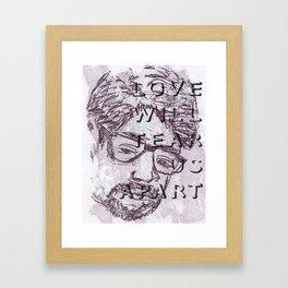 nos evellat seorsum. (v1) Framed Art Print