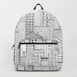 City Doodle (day) Backpack