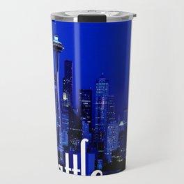 Seattle Space Needle Travel Mug