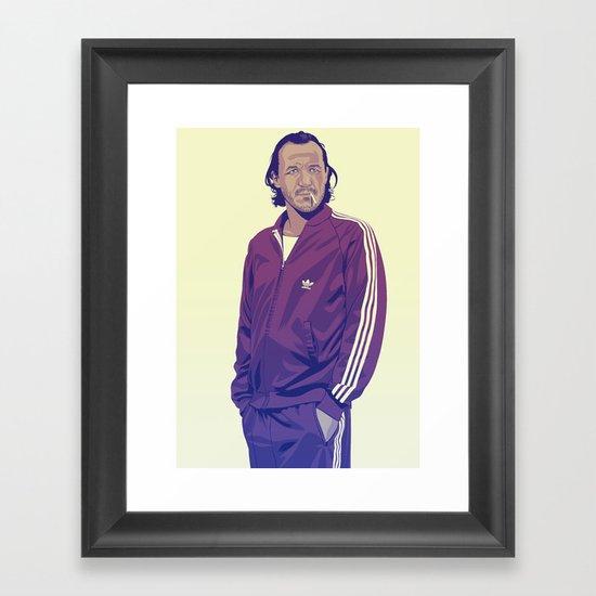 80/90s - Br. Framed Art Print