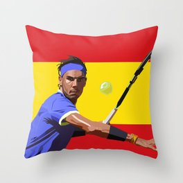 Rafael Nadal | Tennis Throw Pillow