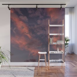Last Days Of Summer. Clouds at Sunset Wall Mural