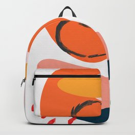 abstract dripping Backpack