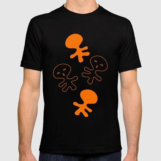 Aliens-Orange T-shirt