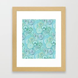 Blue Lagoon Framed Art Print