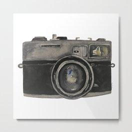 Film Camera Metal Print