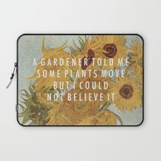 Hunting for Sunflowers Laptop Sleeve