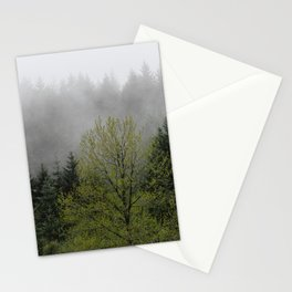 Foggy Forest Wanderlust Adventure - 114/365 Nature Photography Stationery Cards