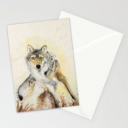 Totem Wolf: Gray wolf (c) 2017 Stationery Cards