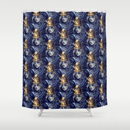 Queen Alice Shower Curtain