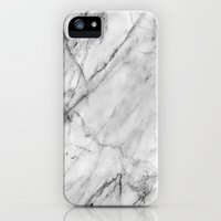 iPhone 5/5s Case featuring Marble by Patterns and Textures