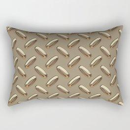 Diamond Plate Rectangular Pillow