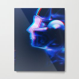 // HUMXN // Metal Print