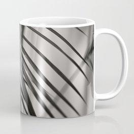 Black & White Palm Leaf #1 #decor #art #society6 Coffee Mug