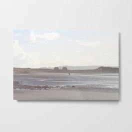 prestwick beach Metal Print