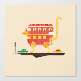 PICADILLY CAT  Canvas Print