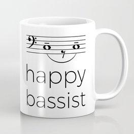 Happy bassist (light colors) Coffee Mug