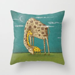 sleep well Throw Pillow