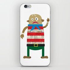 The Shipmate often seen on a Pirate ship iPhone & iPod Skin