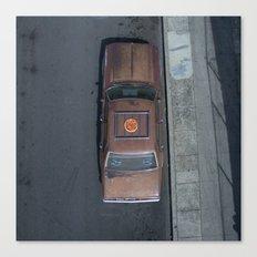 Pizza Car Canvas Print