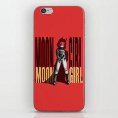 Moon Girl Epic iPhone & iPod Skin