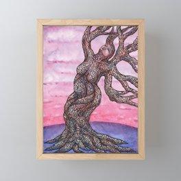 Recline Framed Mini Art Print