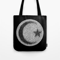 islam Tote Bags featuring Many Paths of One Humanity - 4 of 7 - Islam by ART.KF