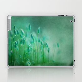 green microcosmos Laptop & iPad Skin