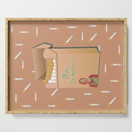 Mac Demarco Collage Art Serving Tray