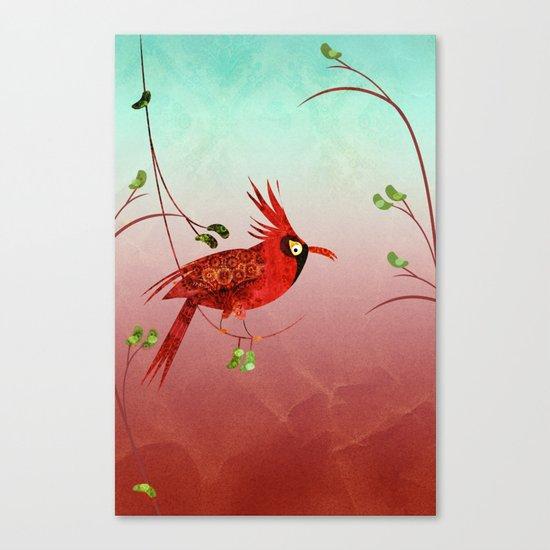 One Bird Canvas Print