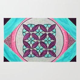 Divinity Now Mandala Rug