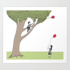 The Getting Tree Art Print