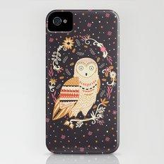Snowy Owl iPhone (4, 4s) Slim Case