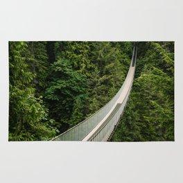 Capilano Suspension Bridge Rug
