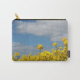 Rape yellow flowers Carry-All Pouch