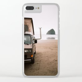 Cape Kiwanda Beach Westfalia Clear iPhone Case