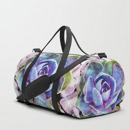Colorful cactus Duffle Bag