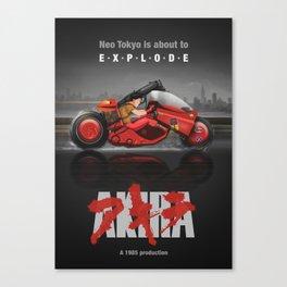 Akira Keneda Artwork Poster Canvas Print