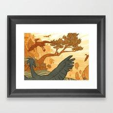 Journey to the Edge of the World Framed Art Print