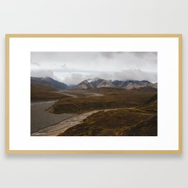 Denali National Park Framed Art Print
