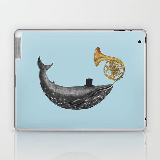 Whale Song - colour option Laptop & iPad Skin