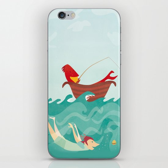 Seafood is Overrated iPhone & iPod Skin