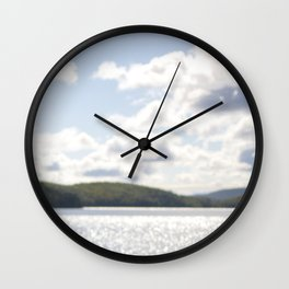 Lac Phillippe, Gatineau Park, Quebec, Canada Wall Clock