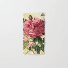Vintage flowers #28 Hand & Bath Towel